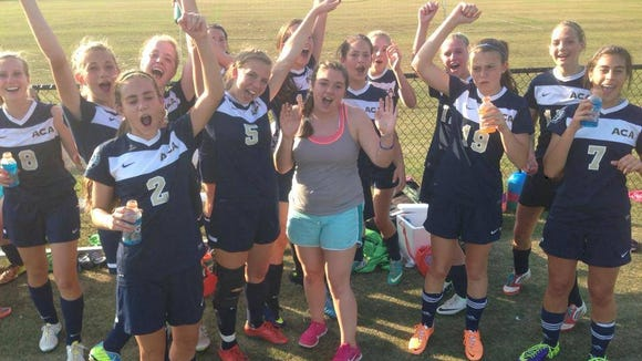 Asheville Christian Academy's girls soccer team will play for a state championship on Saturday.