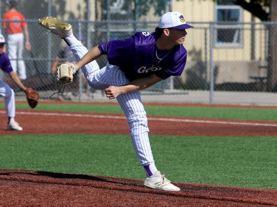 Godley's Chase Lummus is one of three Wildcats who have either signed or committed to a Division I program.