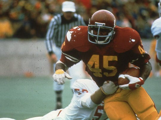 North College Hill grad Dwayne Crutchfield starred for the Cyclones in the early 80's before embarking on an NFL career.