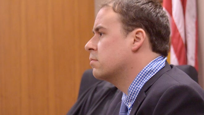 Keith Allard during the trial for Courser and Gamrat.