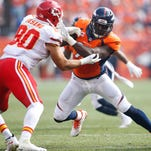 Denver defensive end DeMarcus Ware has 1 1/2  sacks in two games since joining the Broncos via free agency.
