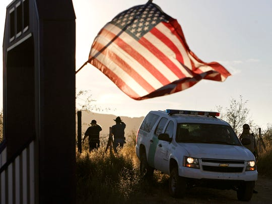 In this Dec. 15, 2010, file photo, an American flag
