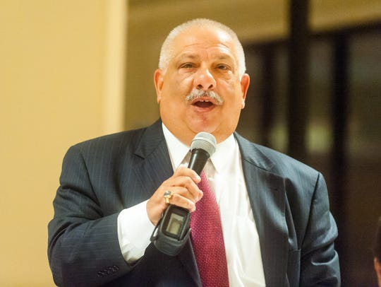 City Council nominee Paul Spinelli introduces himself