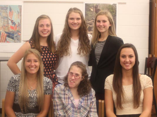 Clear Fork Homecoming Court