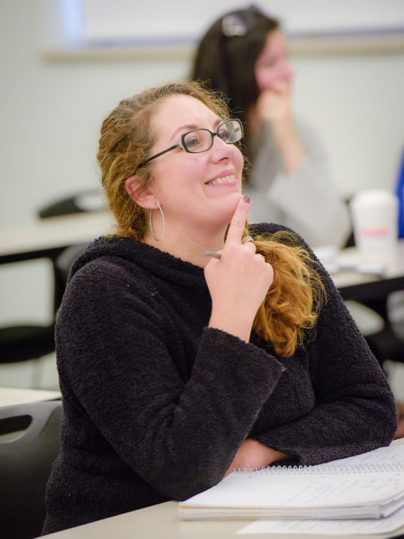 Georgian Court University student Christina Perrino