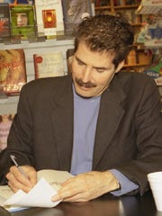 Then ABC-TV's 20/20 co-anchor John Stossel is seen in a file photo.
