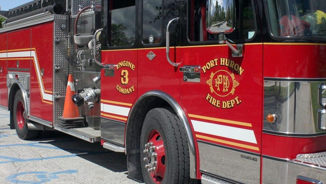 Port Huron Fire Department truck