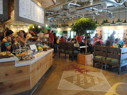 The second branch of Fox Restaurant Concepts' healthful fast causal opened today, May 5 near Shea Boulevard and 90th Street in Scottsdale.