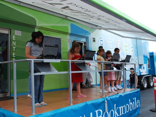 Readers of all ages are invited to learn how to access eBooks from Somerset County Library System of New Jersey through interactive demonstrations and high-definition instructional videos when the Digital Bookmobile National Tour makes a stop at SCLSNJ's Bridgewater Library branch, at 1 Vogt Drive in Bridgewater, on Sept. 29, 10 a.m. to 4 pm. This free event will showcase the digital content services available at SCLSNJ. The Digital Bookmobile, housed inside an 18-wheel tractor-trailer, is a high-tech 74-foot community outreach vehicle. Equipped with broadband Internet-connected PCs, high definition monitors and premium sound systems, the Digital Bookmobile boasts a Gadget Gallery that will help visitors discover portable devices that are compatible with the library's digital service. There will be two Storytimes for children ages 3-6, at SCLSNJ's Bridgewater Library branch that day, 10 to 10:30 a.m. and 1:30 to 2 p.m., that will highlight an eBook. The Digital Bookmobile is a service of SCLSNJ and is operated by OverDrive, which will be raffling off a $50 gift card during the Digital Bookmobile's visit to SCLSNJ's Bridgewater Library branch. For more information, visit SCLSNJ.org.