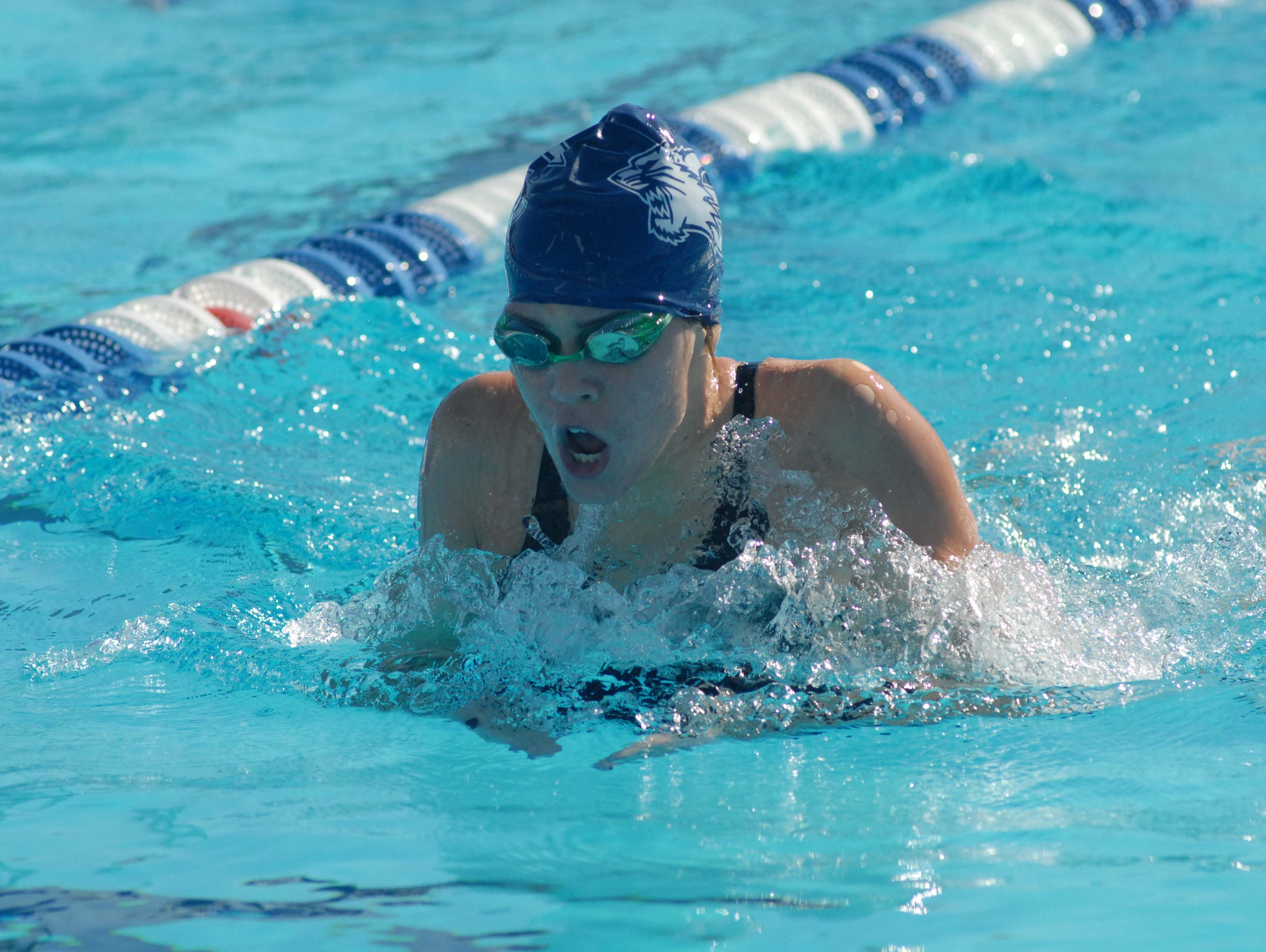 Bean Faunce and the Estero girls swim time finished fifth in Class 2A last season.