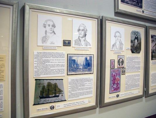 Marquis de Lafayette exhibit