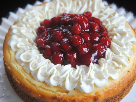 Cherry Red Raspberry Cheesecake, Cristen Clark