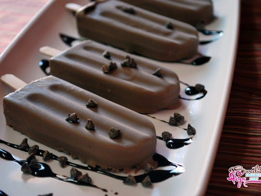 If you're lucky, the decadently divine Chocolate Pops
