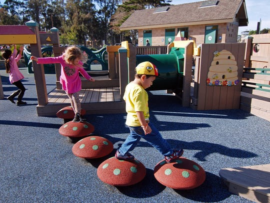"One of the ""Bright Beginnings"" strategies is to expand access to playgrounds for Monterey County children."