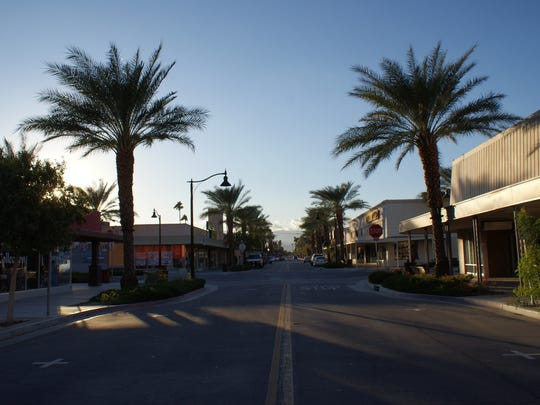 Miles Avenue is the commercial center of Indio's downtown district.