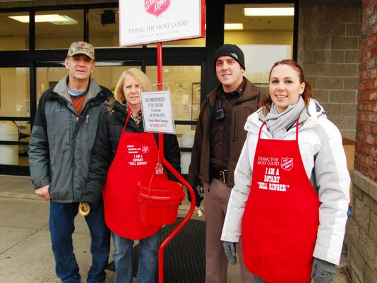 Salvation Army needs bell ringers