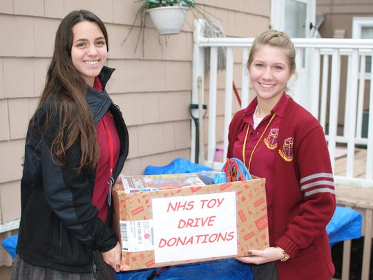 Bishop George Ahr High School is spreading the spirit of Christmas and encourage others to do the same. The school has held many collections, fundraisers and charitable events.