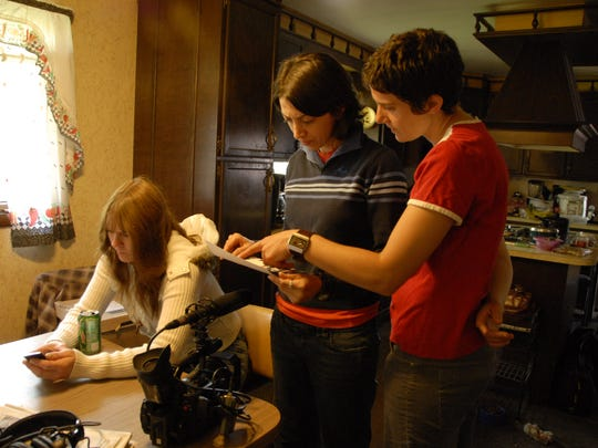 Directors Laura Ricciardi, left, and Moira Demos go
