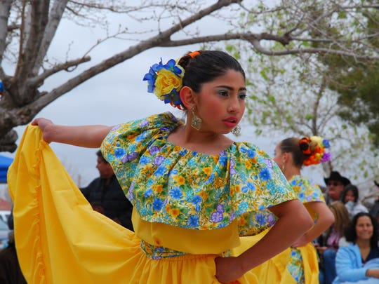 A Korimi Ballet Folklorico dancer adds color to a commemorative event that has evolved into a friendship festival on both sides of the border. The Centennial Commemoration will focus on events  March 12 in Columbus and Palomas that will include a parade, talks, re-enactments and live entertainment.
