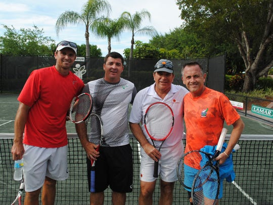 The following tennis professionals participated in
