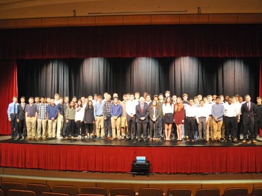 Lance hosts 100 stuents for leadership conference.