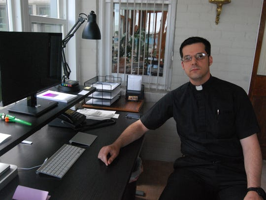 The Rev. David Bechill has been assigned to Our Lady on the River Parish. His boyhood parish was St. Catherine of Alexandria, one of three Catholic churches that now comprise Our Lady on the River.