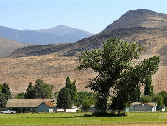 The Flying M Ranch, aka 'Hilton Ranch,' as seen in
