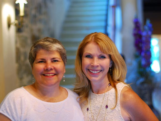 "Sherrill Curtis (right), Principal & Creative Director, Curtis Consulting Group, LLC and Mary Adelman, Founder of Green Star Services, LLC, have teamed up to offer retreats, workshops, webinars, business coaching, and consulting to help individuals tune in to what they call their ""internal GPS."""