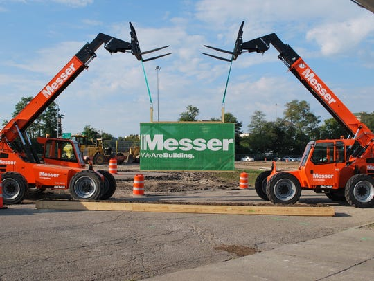 Messer Construction is launching a $12.5 million project