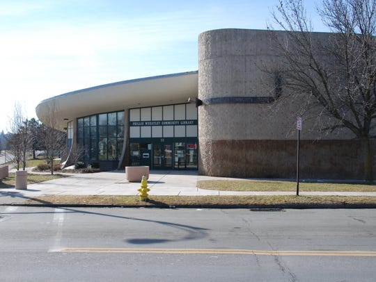 Phillis Wheatley Library, designed by James H. Johnson