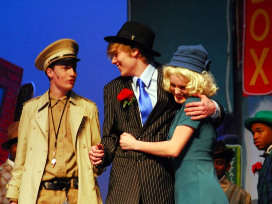 "Christian Youth Theatre presents ""Guys & Dolls"" Thursday through Sunday at Angelle Hall."