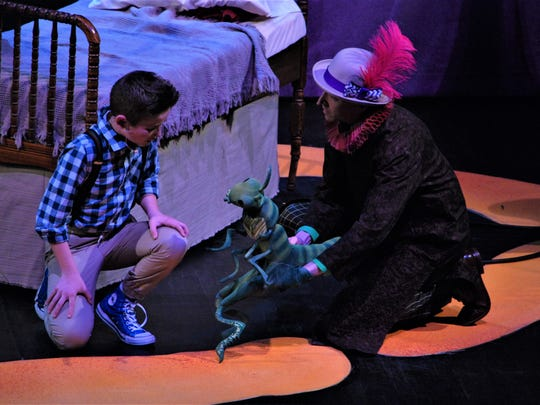 """StageOne Family Theatre's production of """"James and the Giant Peach."""""""