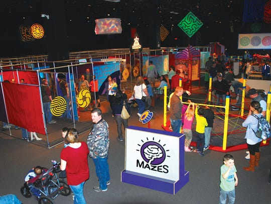 Mazes & Brain Games at Minnetrista opens May 13.