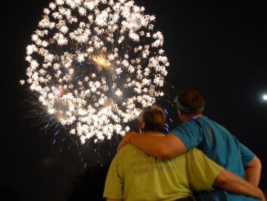 Fireworks will fill the sky over Cape Coral on Sunday night.