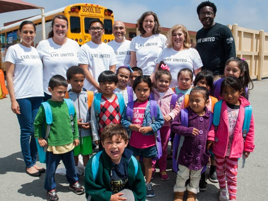 The United Way Monterey County's Stuff the Bus program provides thousands of children with needed school supplies each year.