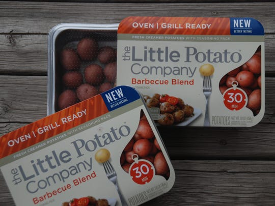 The Little Potato Company, which officially opened its U.S. headquarters in De Forest last week, offers various kinds of consumer-ready packages like these, found in a variety of grocery stores and retailers.