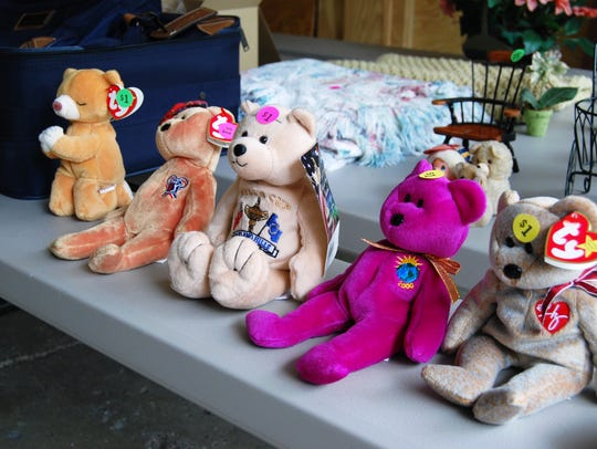 Once much sought after, Beanie Babies are among the