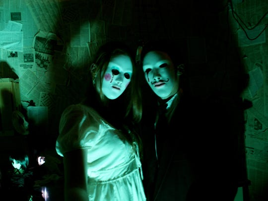Two creatures you might encounter at FrightWorks in Powell.