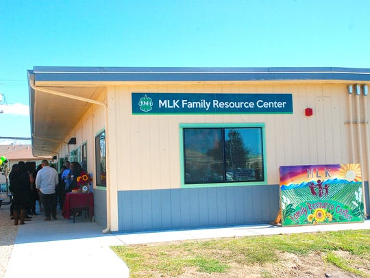 The new Alisal Family Resource Center, situated at