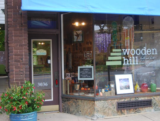 Wooden Hill, an art store with indoor and outdoor items,