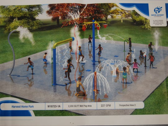 A splash park is planned for Cheviot's municipal pool