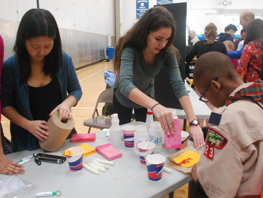 Scenes from the 2017 Reach STEAM Expo at Suffern High