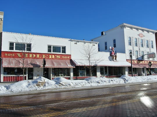 Vidler's, in the village of East Aurora, is the largest 5 & 10 variety store in the world
