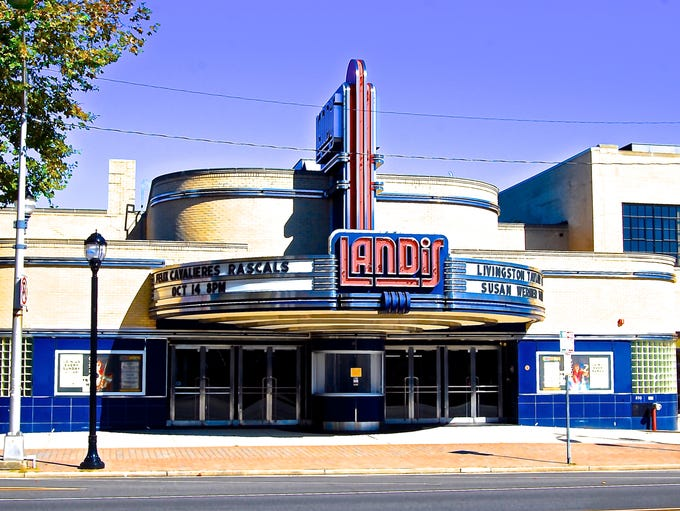 The Landis Theater, Vineland: The Landis theater is