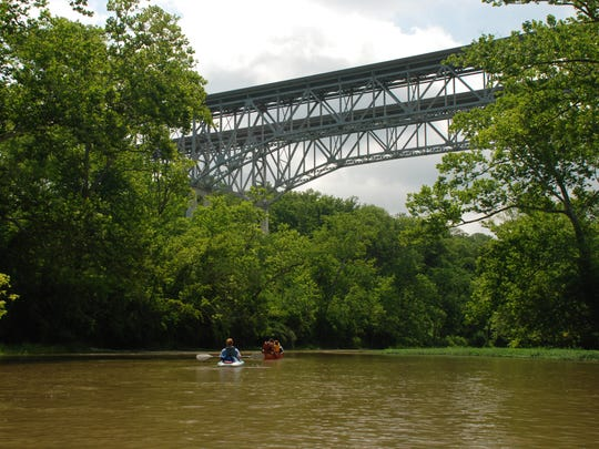 Flowing through a deep gorge, wooded bluffs and rolling farmlands, the Little Miami Wild and Scenic River is located between Dayton and Cincinnati, Ohio, placing it within an hour's drive of over three million people. Public access to the river is readily available through many state and county parks, and canoe liveries paddle most of the river.