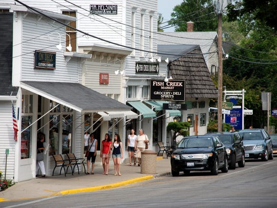 Fish Creek is a quaint, walkable community in Door County.