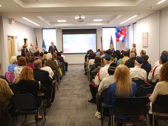 Sayreville Public Library hosted its third annual U.S. Naturalization Ceremony on April 10.