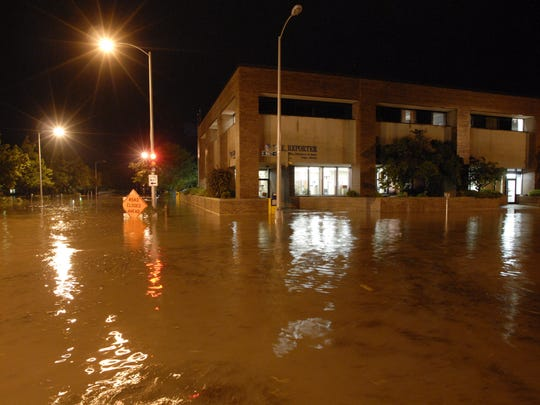 The great flood of '08 almost took out the electrical