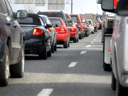 Highway Traffic Jam