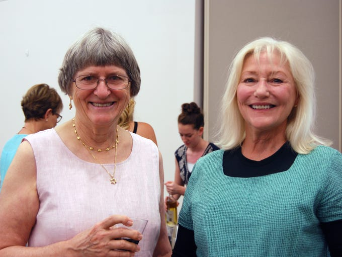 Ruth Grant and Lisa Berger